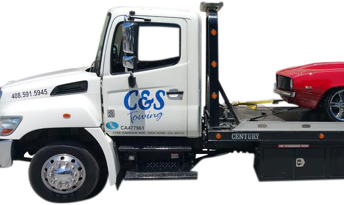 C&S Towing - San Jose Tow Company Truck Side View