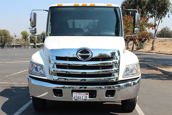 san jose tow truck front view